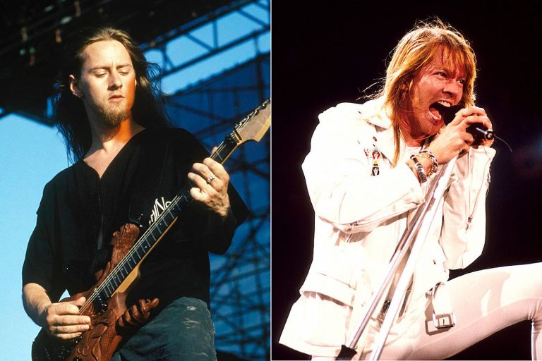 Jerry Cantrell Recalls When Axl Rose Threw Out His Demo Tape