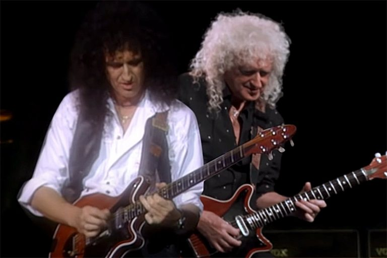 Brian May Duets With Younger Self in 'Back to the Light' Video