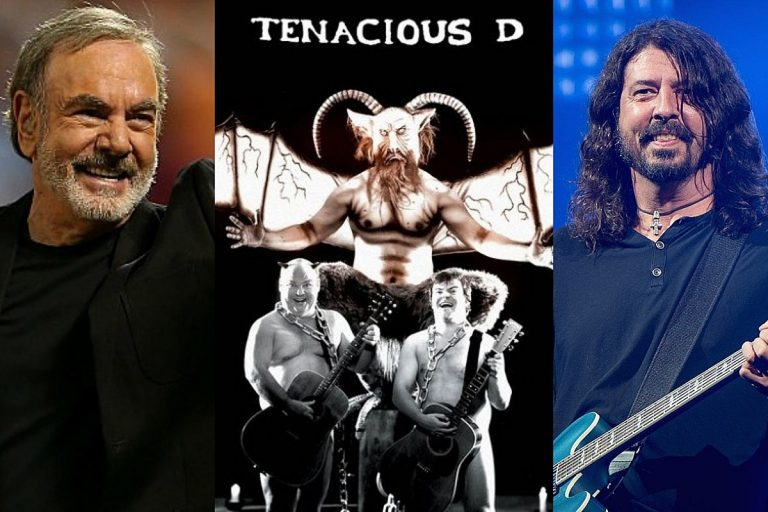 Dave Grohl and Neil Diamond Helped Tenacious D Record Their Debut