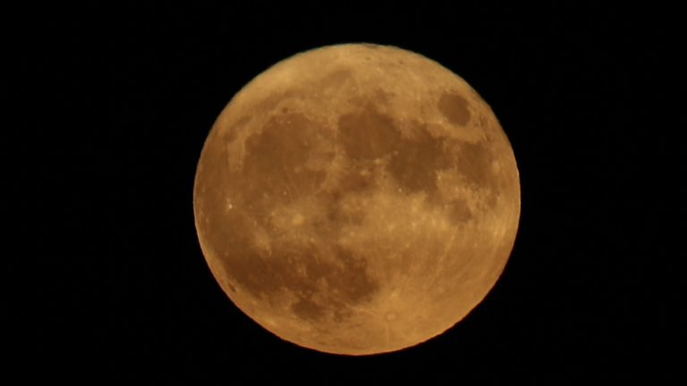 Celebrate The End Of Summer With Monday's Harvest Moon : NPR