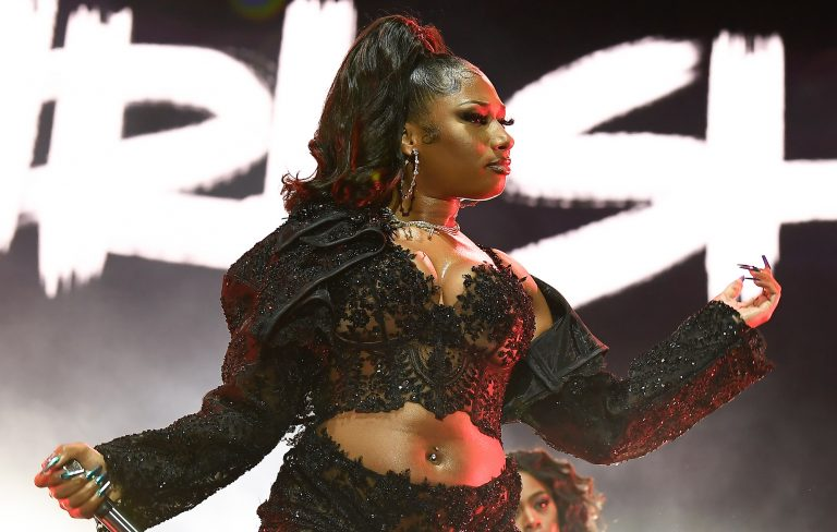 Megan Thee Stallion opens up about facing the male gaze in Julie Adenuga interview