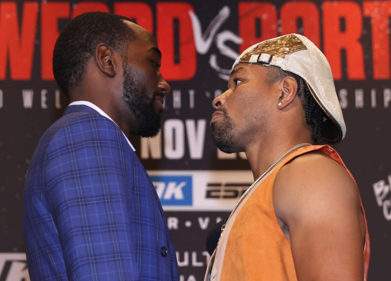 Terence Crawford and Shawn Porter have love fest before Nov. 20