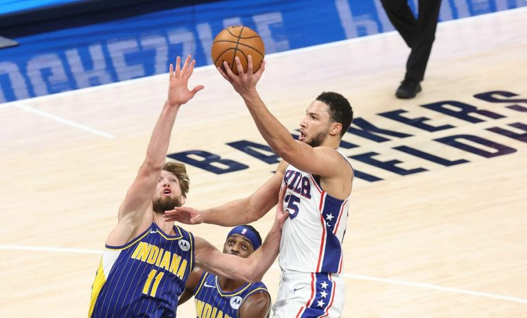 Indiana Pacers are still sniffing around for a Ben Simmons trade
