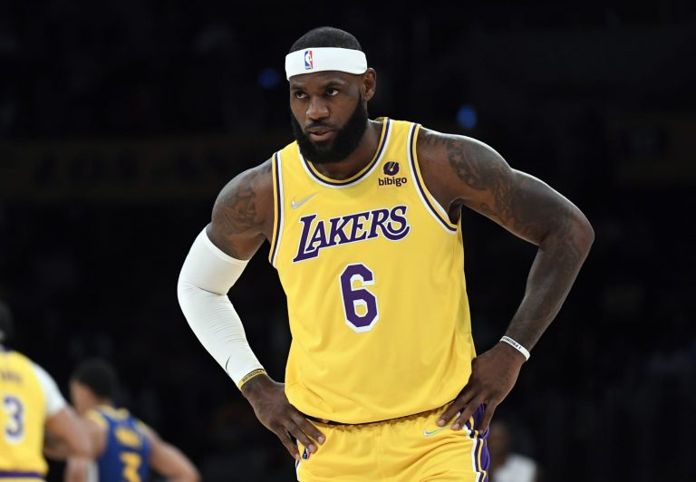 The NBA is back, and so are LeBron's futile attempts to cover his bald spot