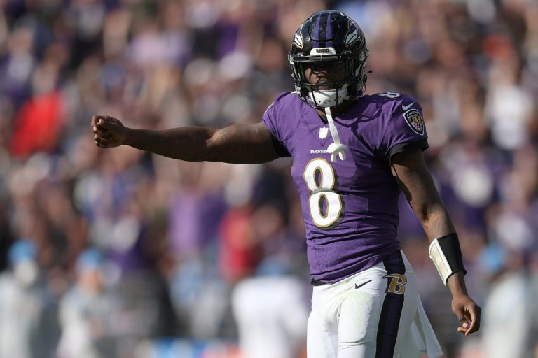 Lamar Jackson is clearly the NFL MVP through six weeks
