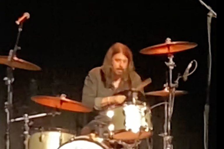 Watch Dave Grohl Drum to Nirvana's 'Smells Like Teen Spirit'