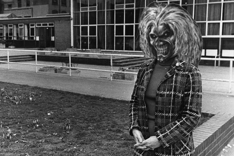 Principal Will Not Be Disciplined for Iron Maiden '666' Images