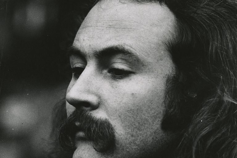 How David Crosby's First Solo Album Saved His Life