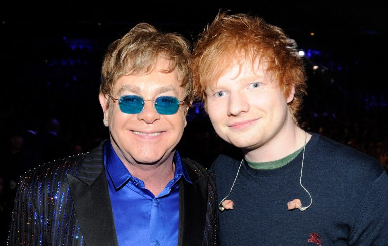 Elton John confirms Christmas duet with Ed Sheeran and jokes about LadBaby battle