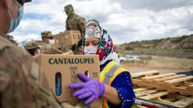 As Miss Navajo Nation, she helped her community through the pandemic : NPR