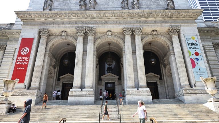 New York Public Library ends all late fees : NPR